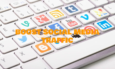 Boost Social Media Traffic, Boost, Social, Media, Traffic, Internet, Marketing, Blog, Website, Blogs, Affiliate Links, Viral Hits, Focus