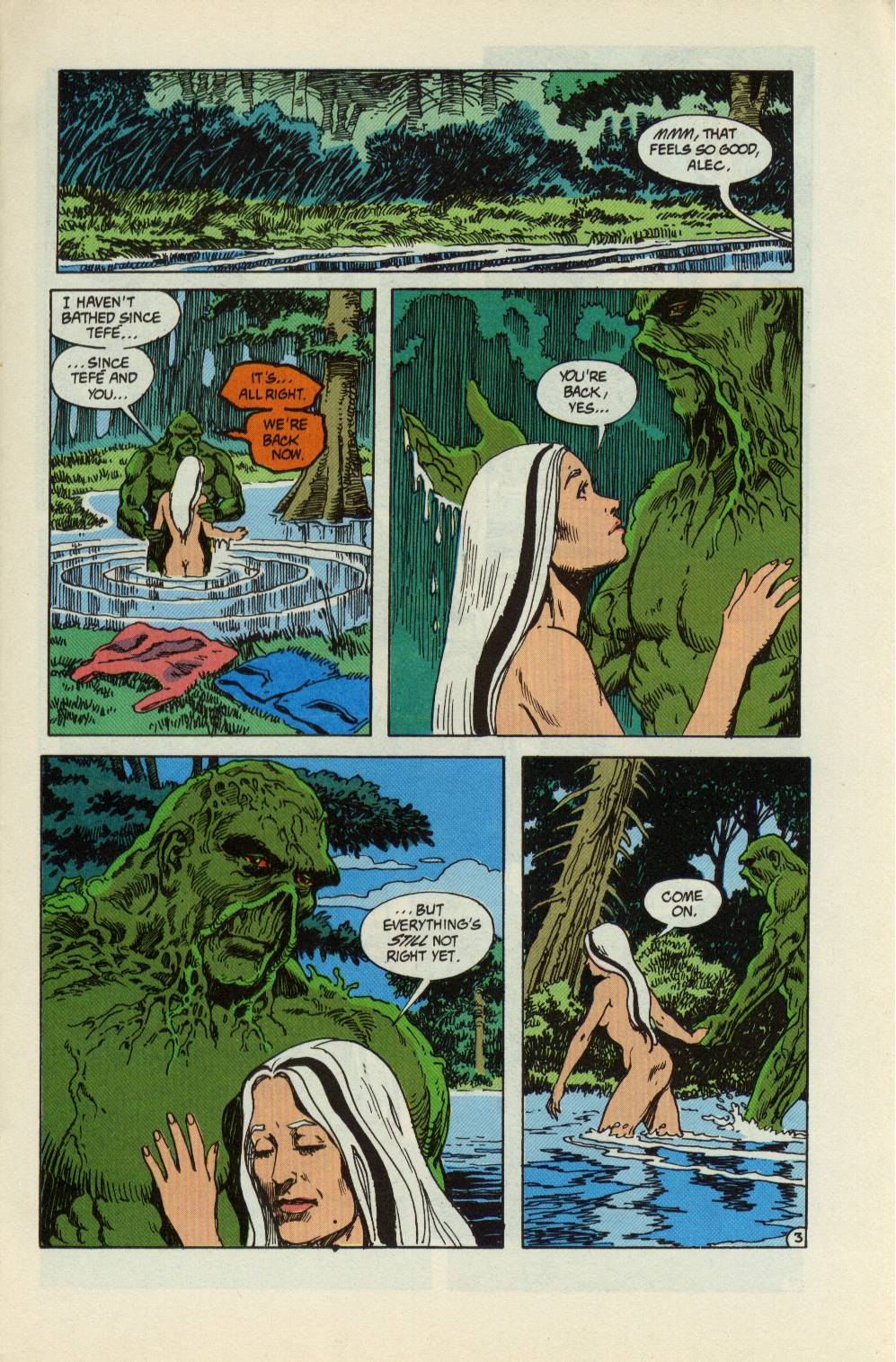 Swamp Thing (1982) Issue #99 #107 - English 4