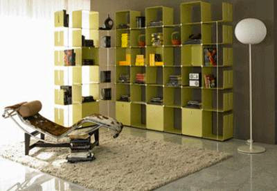 Modular Shelving, Wall Decorating Ideas