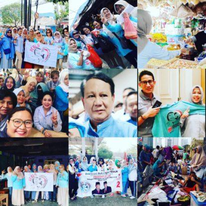 Partai Emak-emak Pendukung Prabowo-Sandi Menyebar di 37 Negara