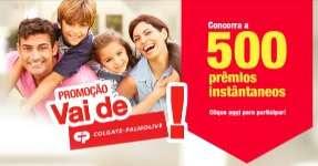 Cadastrar Promoção Vai de Colgate Palmolive Extra 2018 500 Prêmios Instantâneos