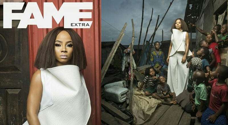 See why people slammed Toke Makinwa over this photo