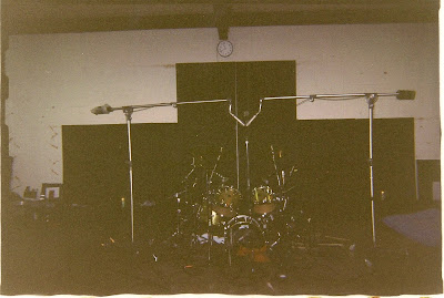 Recording Drums in Studio A at Sound City
