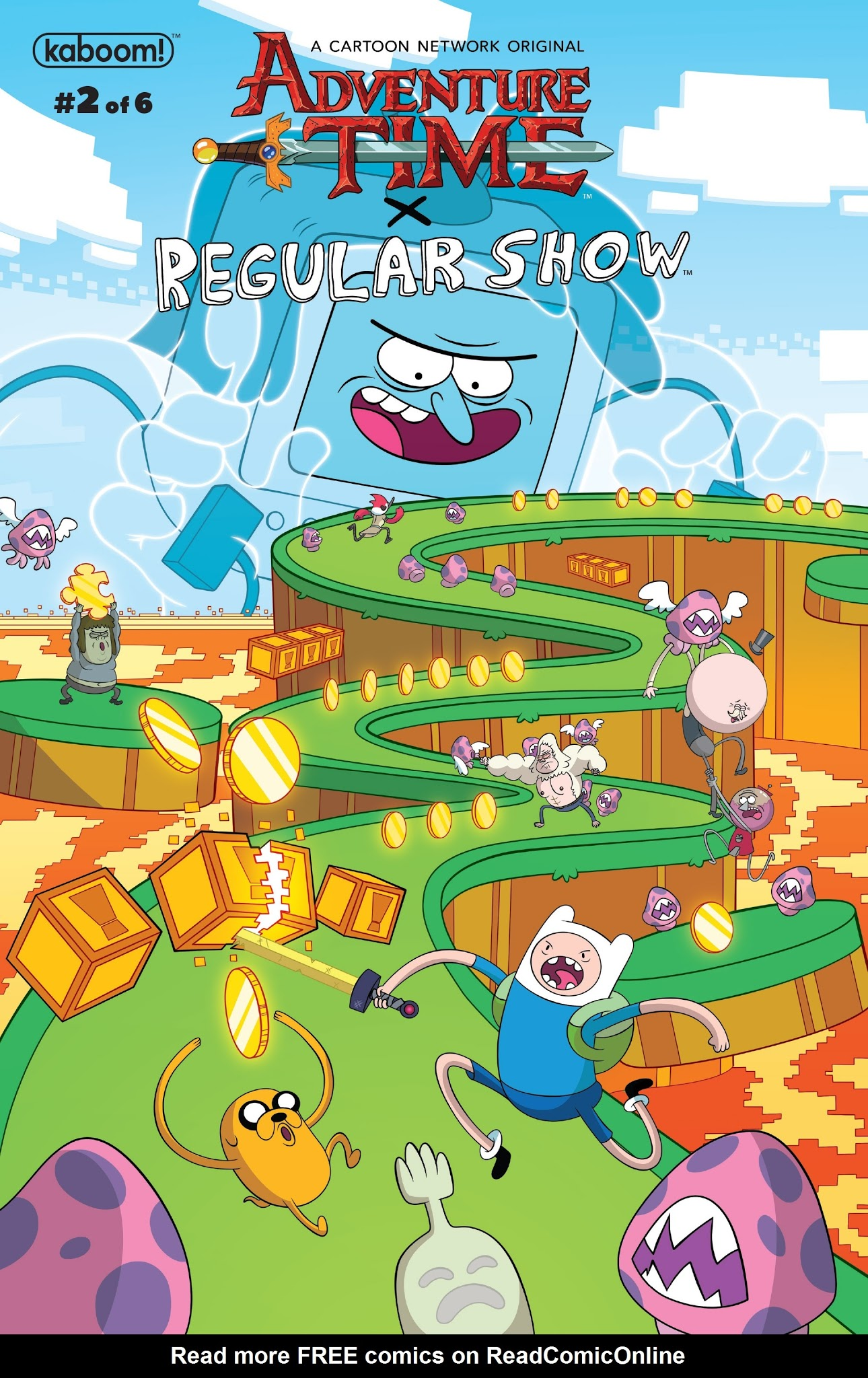 Adventure Time/Regular Show 2 Page 1