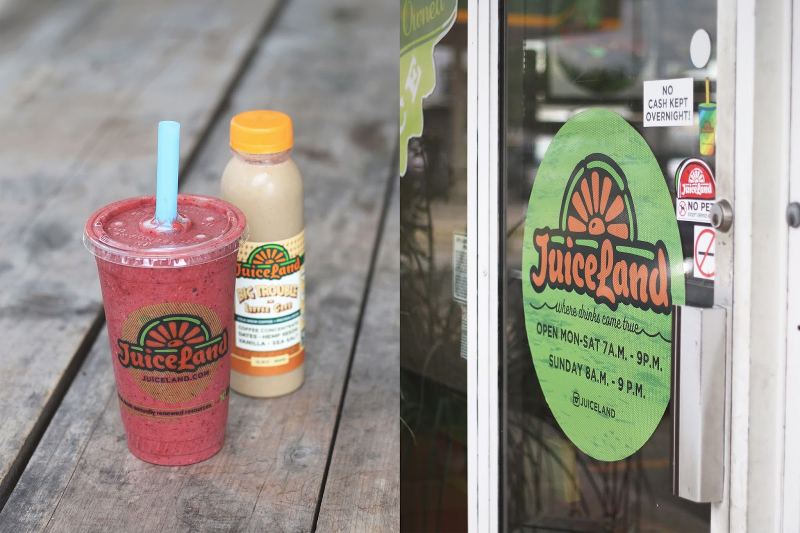 Austin Texas, Austin Smoothies, Best Acai Bowl in Austin, Best Smoothies in Austin, Juiceland Austin Texas Review