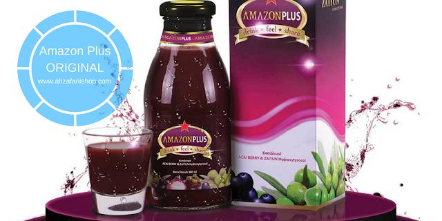 Amazon Plus merupakan produk jus kesehatan terbaik yang terbuat dari ekstrak buah-buahan yang memiliki kandungan antioksidan berkualitas tinggi