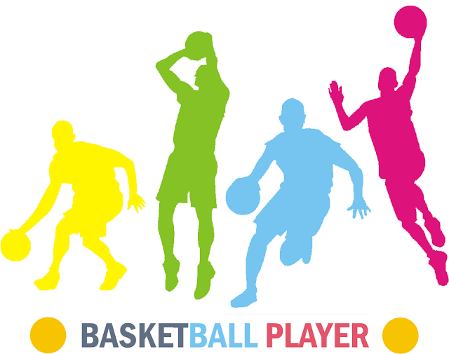 Ilustrasi Pemain Basket