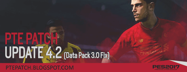 PES 2017 PTE Patch 2017 Update 4.2