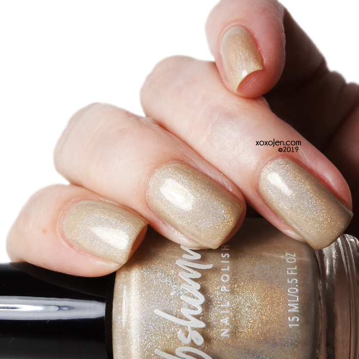 xoxoJen's swatch of KBShimmer: In Bare Form