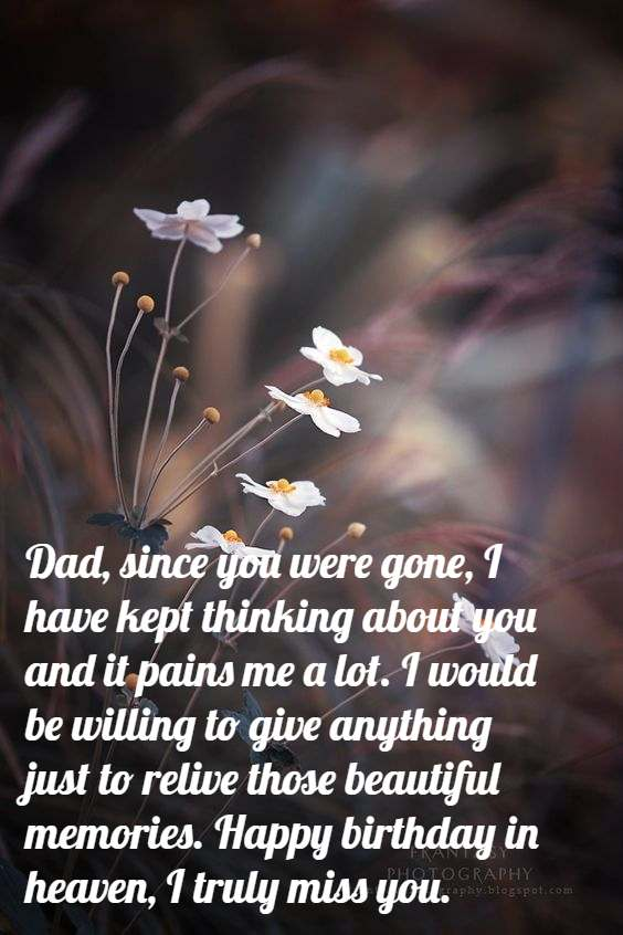 Tremendous Happy Birthday Dad In Heaven Quotes Poems Pictures From Daughter Personalised Birthday Cards Paralily Jamesorg