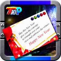 Top10NewGames Find The New Year Greeting Card