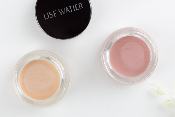Lise Watier Ombre Velours Supreme Eyeshadow Review in Vanille Velours and Sable Velours