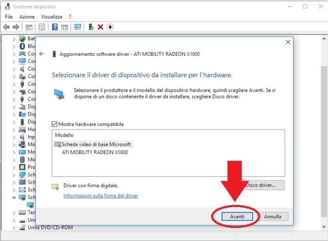 ATI SCHEDA VIDEO DI BASE MICROSOFT WINDOWS XP DRIVER
