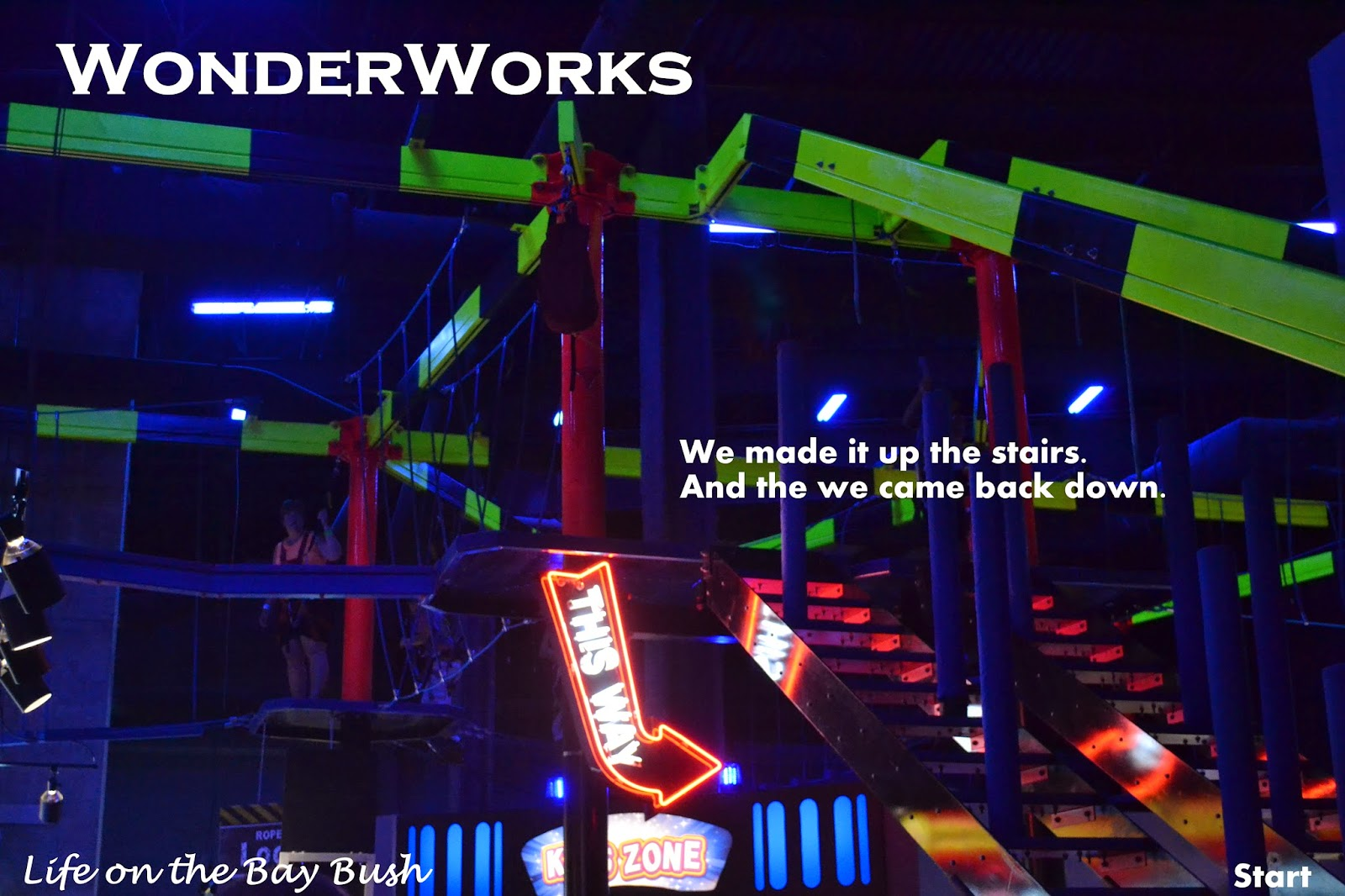 Wonderworks Ropes Course Myrtle Beach