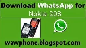 تثبيت whatsapp على هواتف نوكيا s40 التي لا تدعمه 208,311,207...