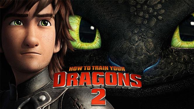 Cómo Entrenar a tu Dragón 2 (2014) BRRip 720p Latino-Castellano-Ingles