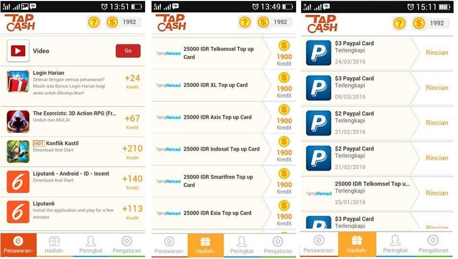 3 Aplikasi Penghasil Pulsa Gratis Terbukti Membayar Untuk Android