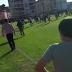 Pelea entre público y jugadores en el Laredo-Solares Juvenil