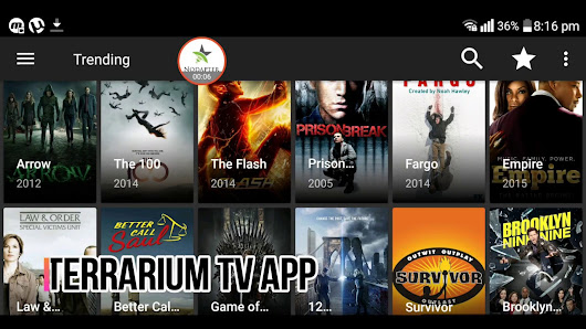 Terrarium TV App Download - Download App For Android,iOS & PC Free HD Movies