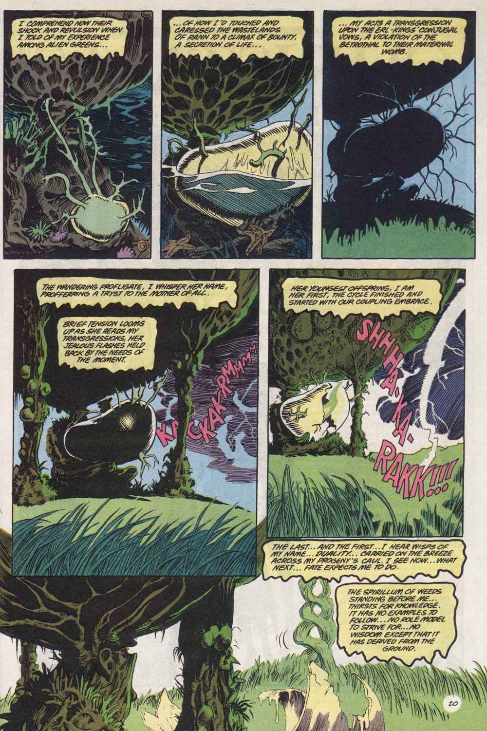 Swamp Thing (1982) Issue #89 #97 - English 21