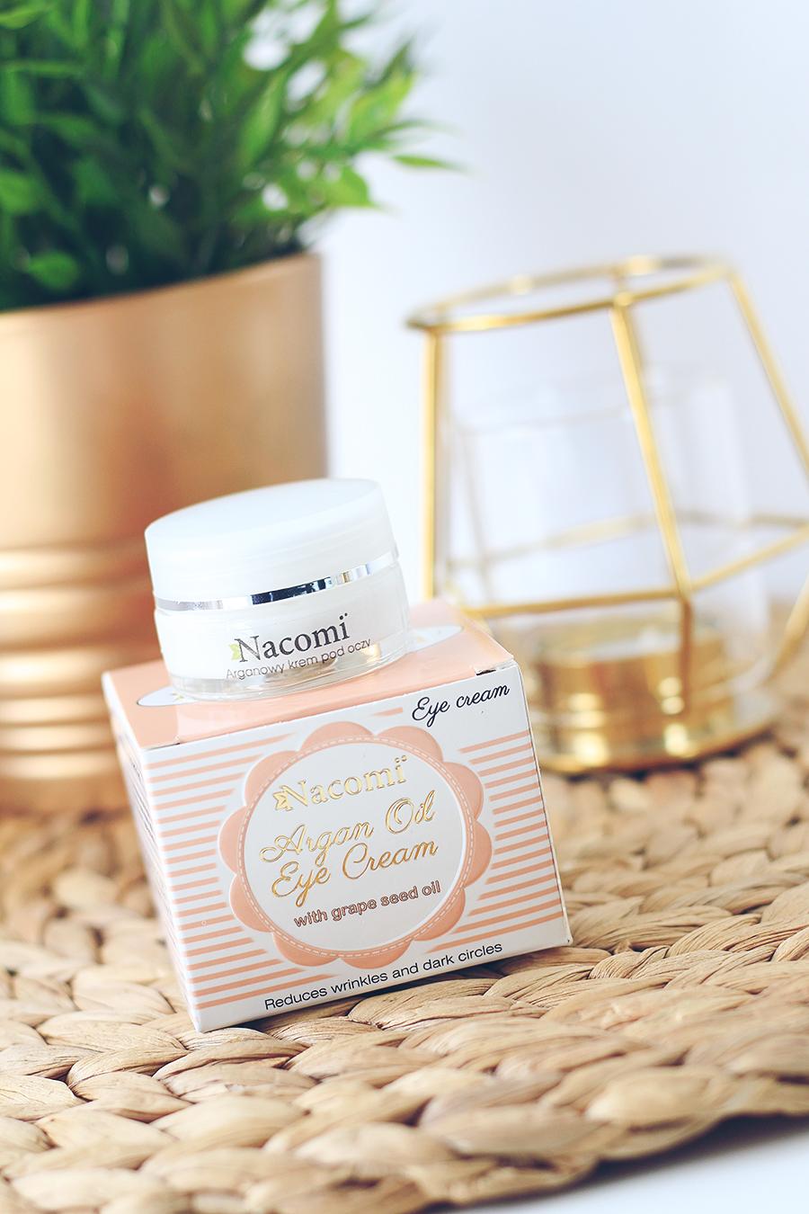 Codzienna pielęgnacja twarzy z marką Nacomi | Aloesowy żel krem, Hialuronowe serum żelowe & Arganowy krem pod oczy