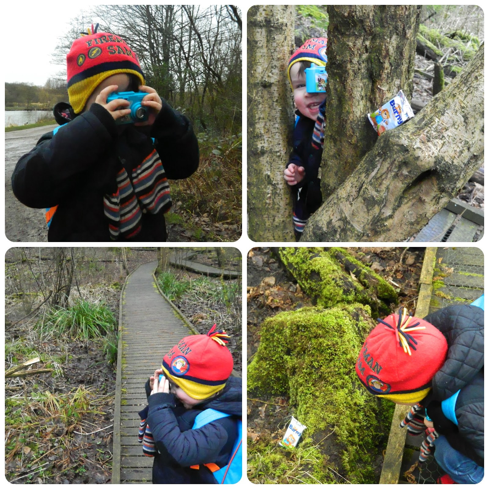 Photographing the bears on our bear hunt!