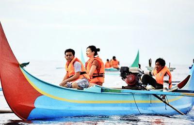 Provinsi Lampung terletak di pulau Sumatera Menikmati Wisata Alam Di Daerah Lampung, Sumatera, Indonesia