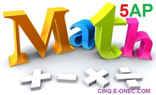 مواضيع تجريبية في الرياضيات للسنة 5 ابتدائي - شهادة التعليم الابتدائي