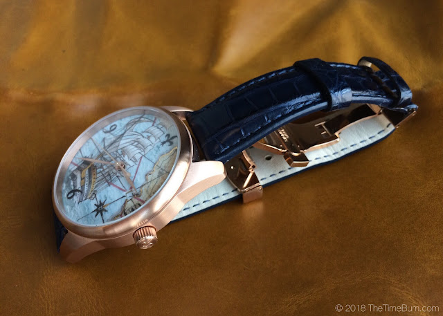 Ferretti Timepieces Amerigo maiolica watch