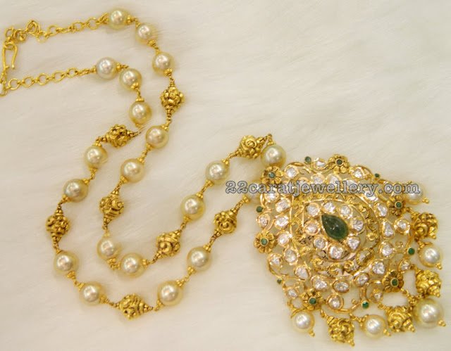60gram Pearls Set with Pendant