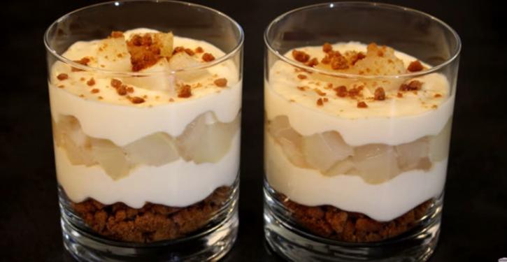 Delicious Recipe Tiramisu Pear Speculoos