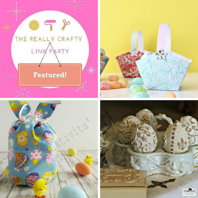 The Really Crafty Link Party #64 featured posts