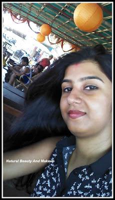 blogger anamika at Anjuna beach, North Goa
