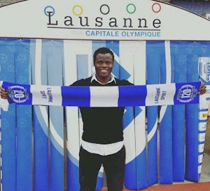 Money speaking! Former super eagle defender Taiye Taiwo Joins Swiss Club, Lausanne Sport