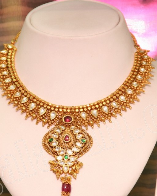 Gold Gold Jewellery Designs At Kalyan Jewellers