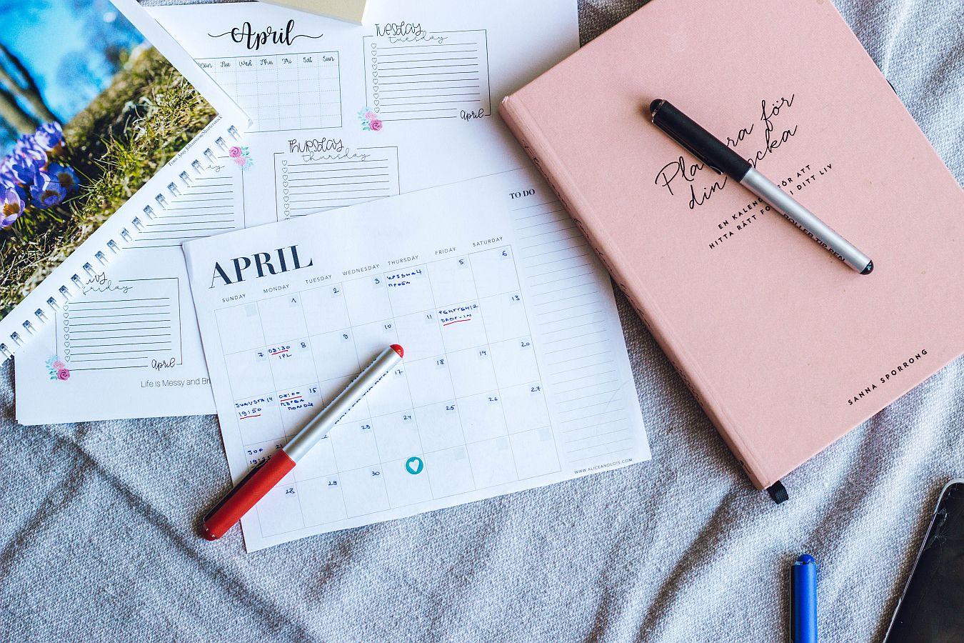 месечно попъпване, важни задачи