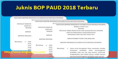 Juknis BOP PAUD 2018 Terbaru Format PDF