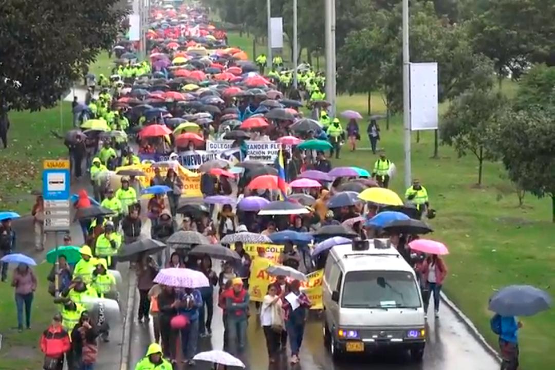 Jornada de Movilización y Protesta 13 de septiembre de 2018