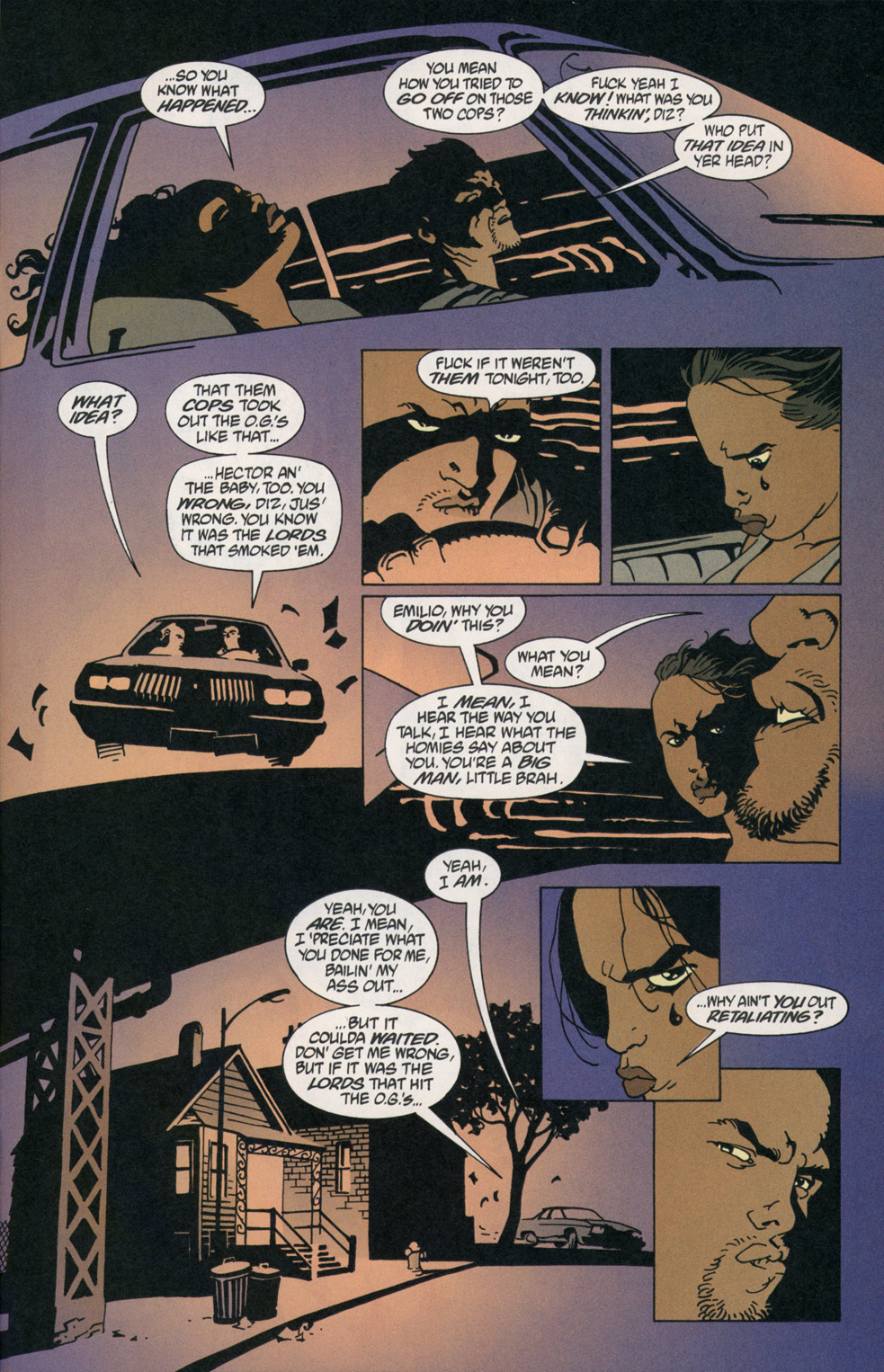 Read online 100 Bullets comic -  Issue #2 - 21
