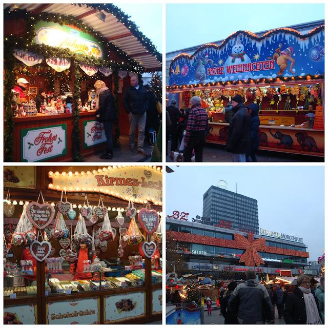 Christmas Market at the Kaiser Wilhelm Memorial Church, Berlim