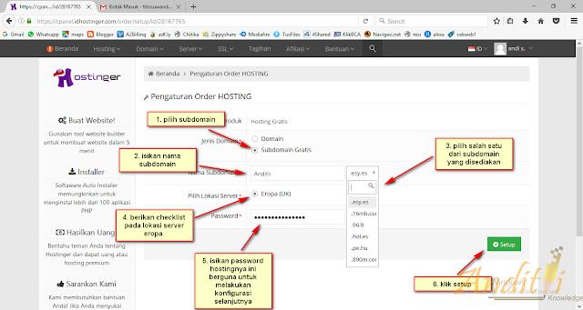 Cara Order Hosting Baru di IdHostinger dengan SubDomain Gratis-anditii.web.id