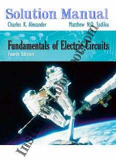 [Solution] Fundamentals of Electric Circuits, 4th Edition by Alexander & M sadiku