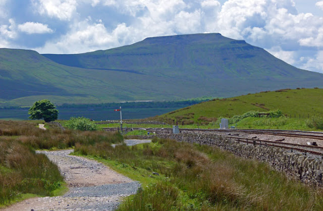 Ingleborough, Carlisle, Settle, railway