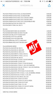 Harga Sepeda Polygon 2017 Sebelum Discount 3 MINAT??? sms 08568665168