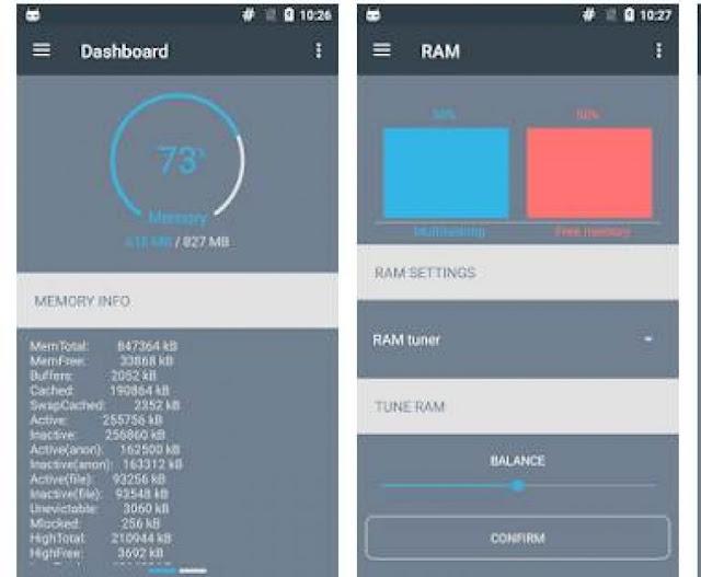 Cara Menambah RAM Android dengan Aplikasi RAM Manager