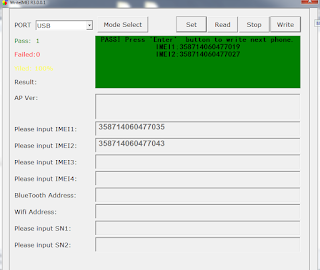 Cara write imei android chipset spreadtrum
