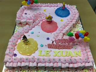 Le Xuan 2nd Birthday