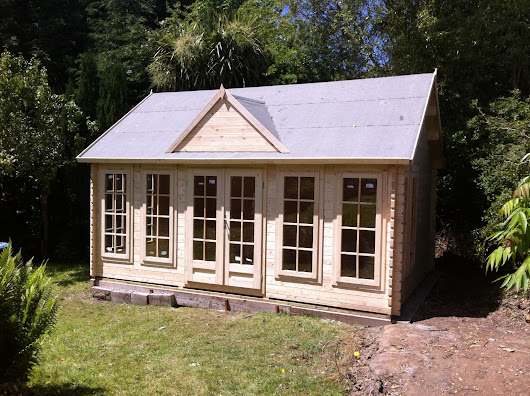 Howser Pool House 3.8m x 5.3m Log Cabin