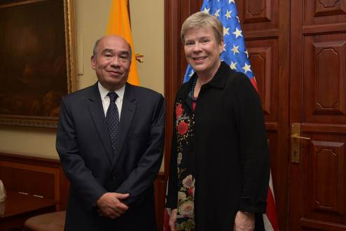 Subsecretaria estadounidense habló en Quito sobre seguridad nuclear y no proliferación
