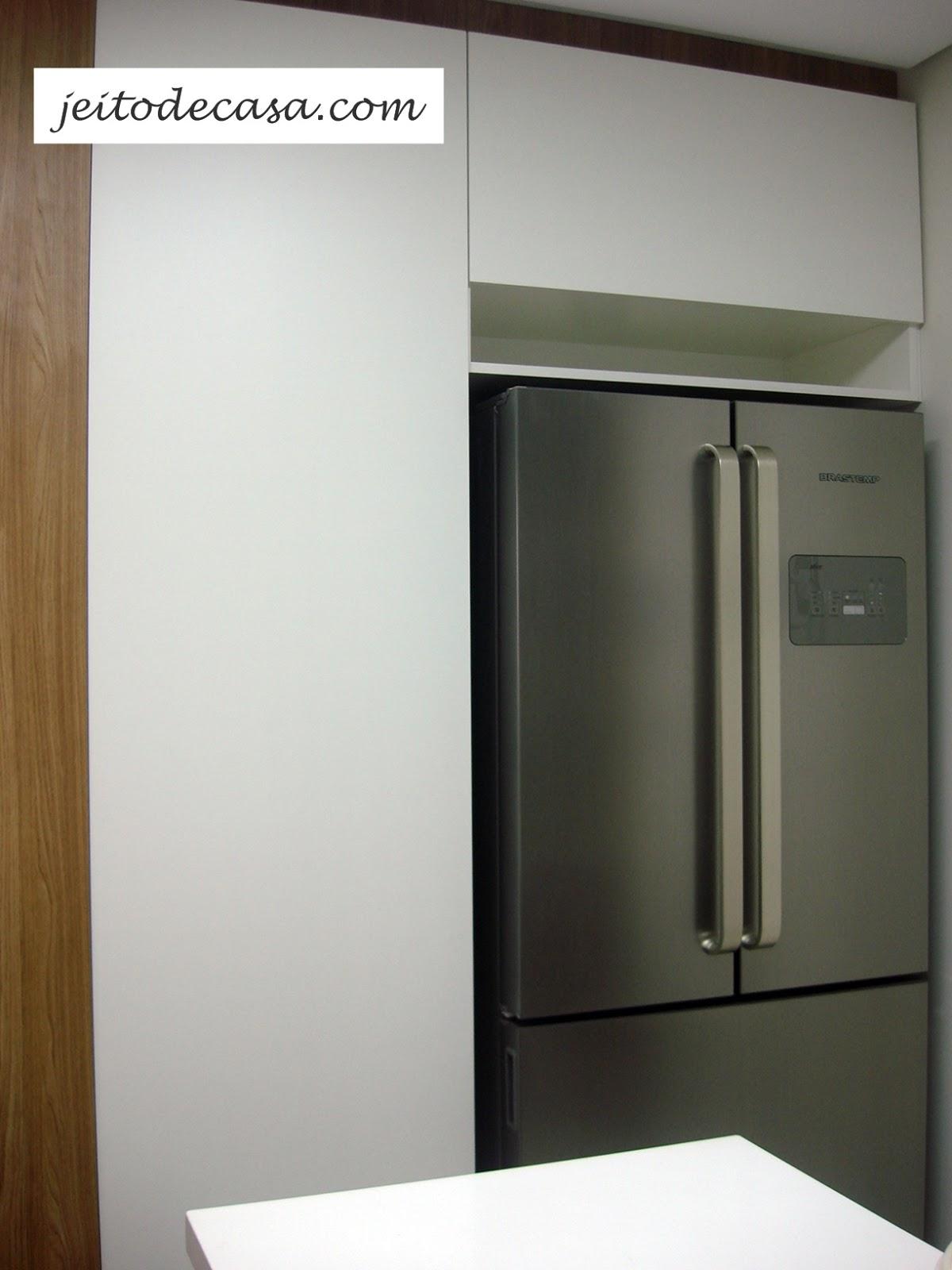 Cozinha Branca De Apartamento Minha Cozinha Jeito De
